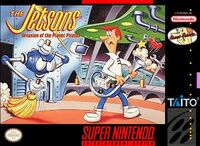 The Jetsons Invasion Of The Planet Pirates SNES cover