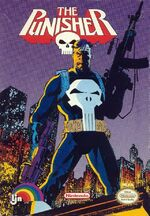 Punisher NES cover