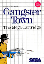 Gangster Town SMS box art