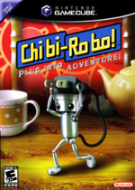 Chibi-Robo Plug Into Adventure GC cover