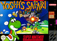 Yoshis Safari SNES cover
