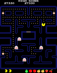 Pac Man arcade screenshot