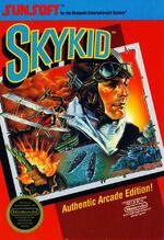 Sky Kid NES cover