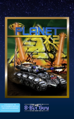 Planet X2 C64 cover