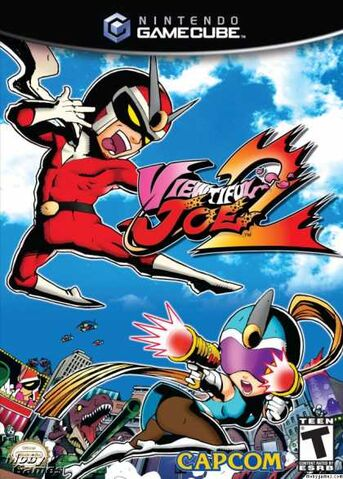 File:Viewtiful Joe 2 GC cover.jpg
