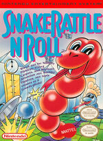 Snake Rattle n Roll NES cover