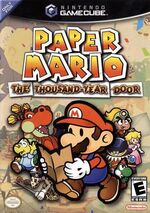 Paper Mario The Thousand-Year Door GC cover