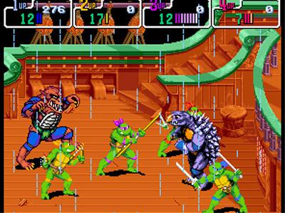File:Teenage Mutant Ninja Turtles 4 Turtles In Time SNES screenshot.jpg