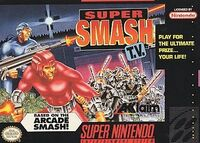 Super Smash TV SNES cover