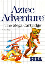 Aztec Adventure SMS box art