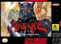 Hagane The Final Conflict SNES cover