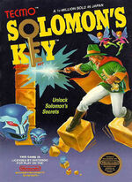 Solomons Key NES cover