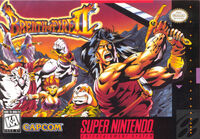 Breath Of Fire 2 SNES cover