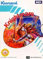 Knightmare MSX cover
