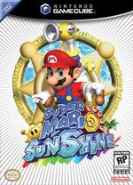 Super Mario Sunshine GC cover