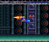 Sparkster SNES screenshot