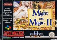 Might and Magic 2 SNES Cover