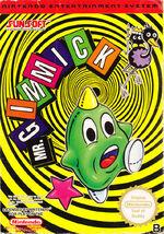 Mr Gimmick NES cover