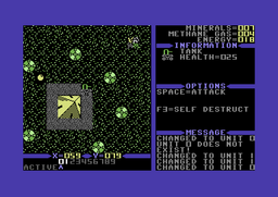Planet X2 C64 screenshot