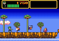 Wonder Boy in Monster Lair arcade screenshot