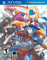 Blazblue Continuum Shift Extend PSVita cover