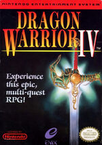 Dragon Warrior 4 NES cover