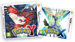 Pokemon X and Y 3DS covers