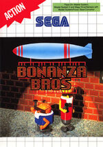 Bonanza Bros SMS box art