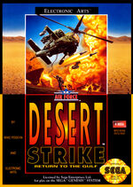 Desert Strike MD cover