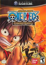 One Piece Grand Battle GC cover