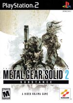 Ps2 metalgearsolid2substance