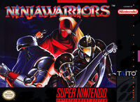 The Ninja Warriors SNES cover