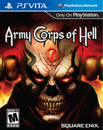 Army Corps of Hell PSVita cover