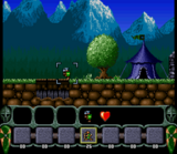 King Arthurs World SNES screenshot
