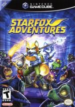 Starfox Adventures GC cover