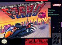F-Zero SNES cover