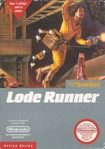 Lode Runner NES cover