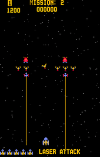 Gorf arcade screenshot