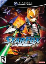 Starfox Assault GC cover