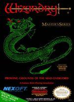 Wizardry NES cover