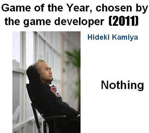Hideki kamiyas game of the year 2011