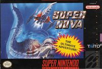 Super Nova SNES cover