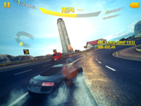 Asphalt 8 Blackberry screenshot