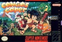 Congos Caper SNES cover