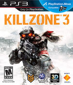 Killzone 3 cover ps3