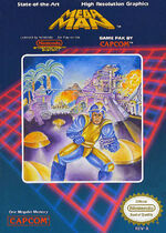 Mega Man NES cover