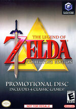 The Legend Of Zelda Collectors Edition GC cover