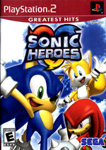 Sonic heroes ps2 cover