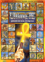 Ultima IV C64 cover