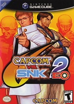 Capcom Vs SNK 2 EO GC cover